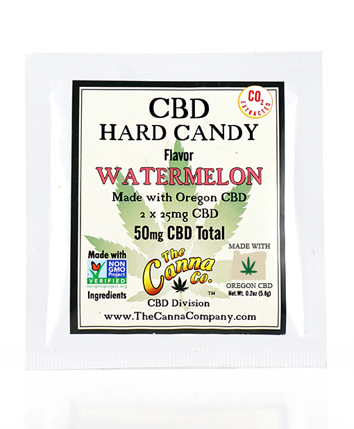 CBD Hard Candy – Watermelon – 2 Pack