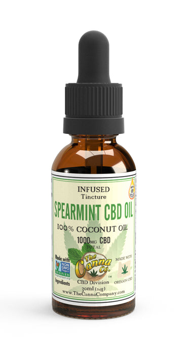 CBD/ Spearmint Coconut Oil Tincture