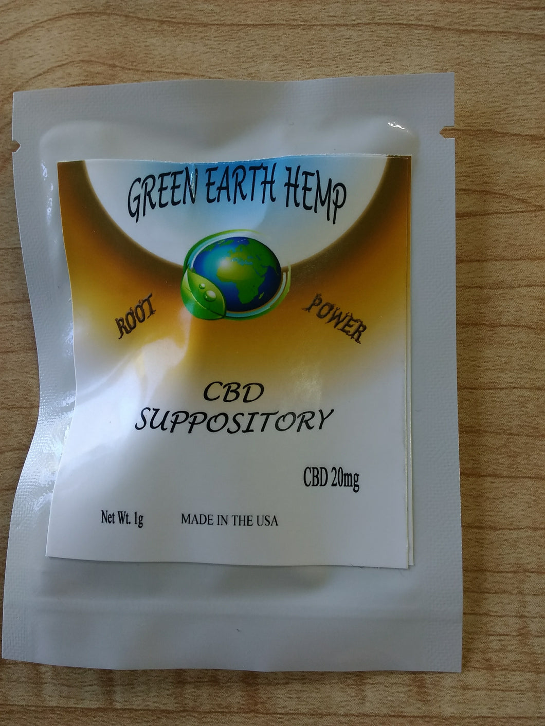Green Earth Hemp - CBD Suppository