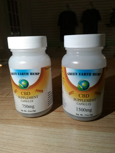 Green Earth Hemp - CBD Capsules