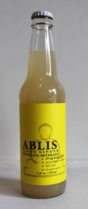 Ablis™ all natural CBD infused lightly carbonated beverages