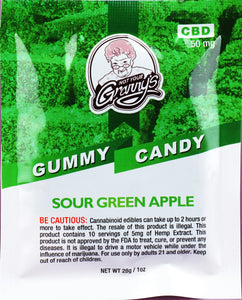 Not Your Granny's Gummy Candy – Sour Green Apple