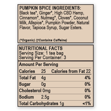 Load image into Gallery viewer, Herbal Tea - Pumpkin Spice Chai