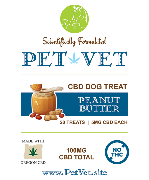CBD Dog Treats - Peanut Butter