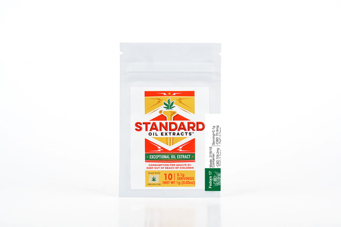 Standard Oil Extracts – CBD Snap & Pull BHO – Fedora 17