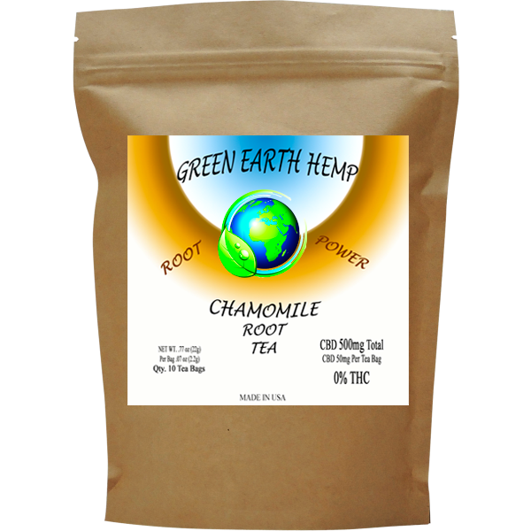 Green Earth Hemp - Root Tea - Chamomile