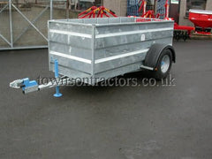 Swaledale 1004 Galvanised Sheep Trailer