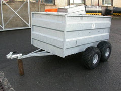 Swaledale ST604 twin axle ATV 4 sheep trailer
