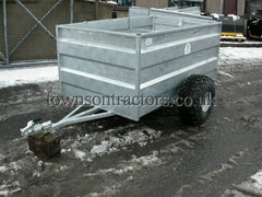Swaledale ST604 single axle ATV sheep trailer