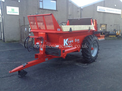 KTwo Eco 50-8 rear discharge spreader