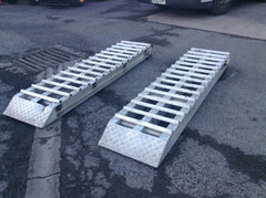 Alloy trailer ramps