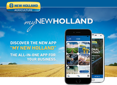 My New Holland mobile app
