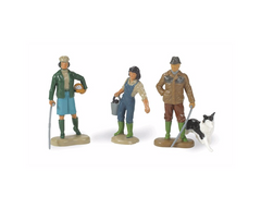 Britains Farming family set