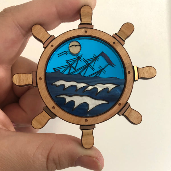 Lost at sea Brooch