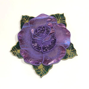 Traditional Rose brooch