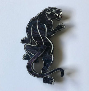 Traditional panther brooch