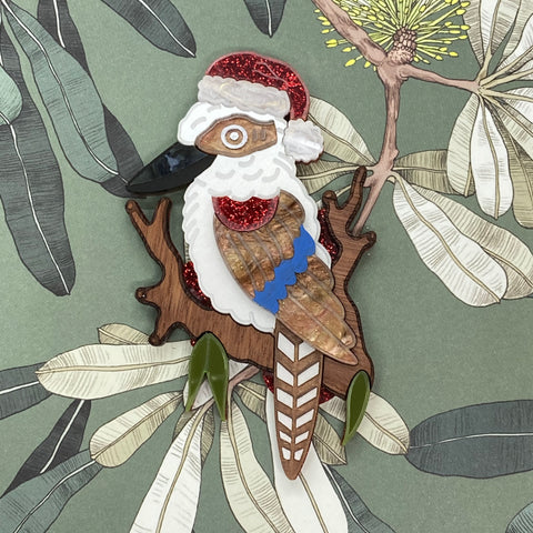Festive George the kookaburra