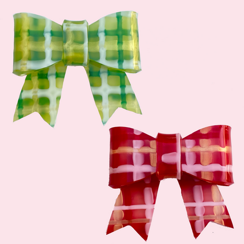 Maggie Bow - Plaid