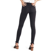 Fashion High Waist Pure Color Jeans