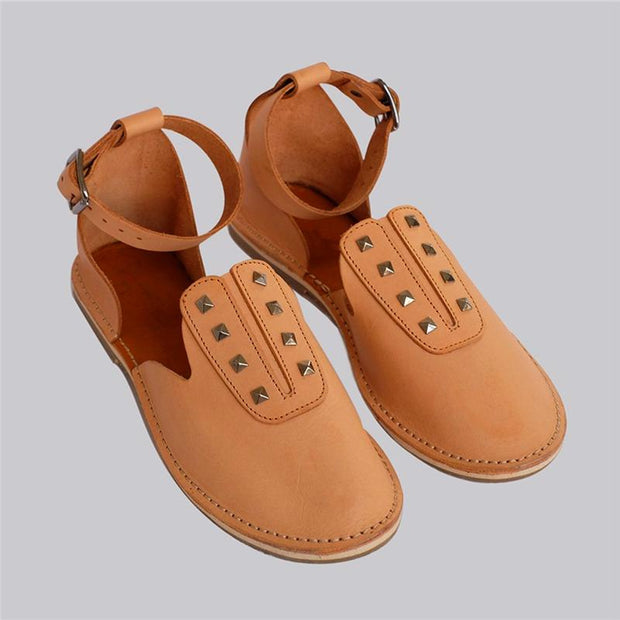 Ladies Comfortable Round Head Simple Casual Shoes