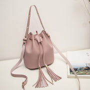 Women's Casual Fashion Floating Tassel Single Shoulder Oblique Bag