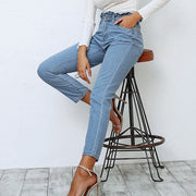 Fashion Slim Fit Denim Pencil Jeans