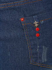 Pockets Denim Jeans