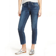 Stylish Solid Color Slim Jeans