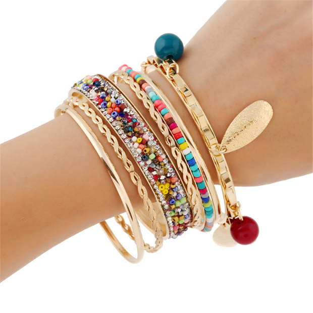 Fashion Diamond Alloy Bracelet