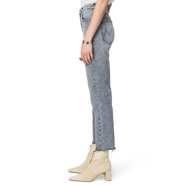 Casual Pure Color Middle Waist Jeans