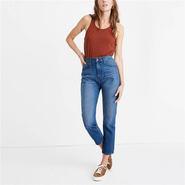 Women's casual stretch jeans