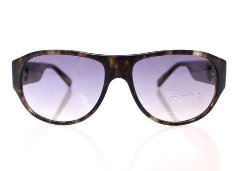 Brown Plastic Logo Men's Sunglasses