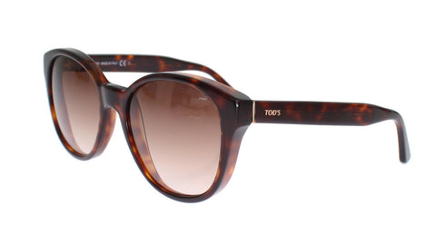 Brown Plastic Frame UV Lens Sunglasses