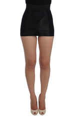 Black Bodycon Skirt Stretch Shaper Shorts