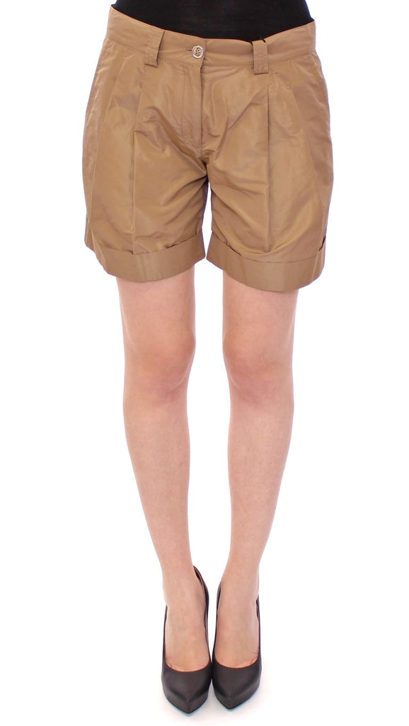Brown chinos shorts pants