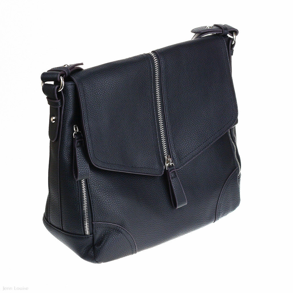 Anita Shoulder Bag (Black handbag)