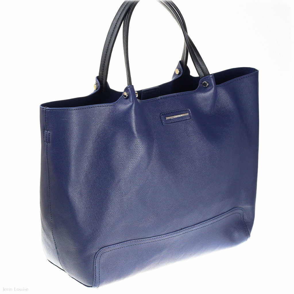 Billie Tote (Navy/Black handbag)