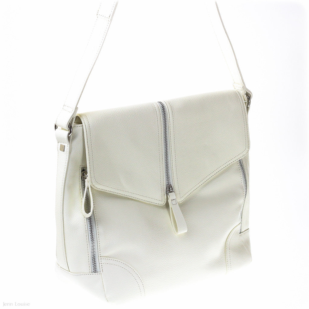 Anita Shoulder Bag (Light Bone handbag)