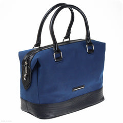 Sammy Day Bag (Blue/Black handbag)
