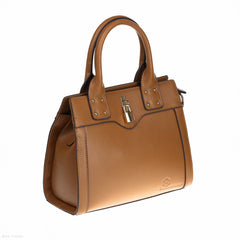 Funky Bowler (Brown handbag)