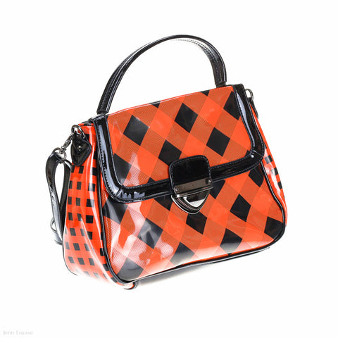 Vivian Cross Body Bag (Orange handbag)