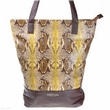 Spirit 1 Tote (Brown Snake handbag)