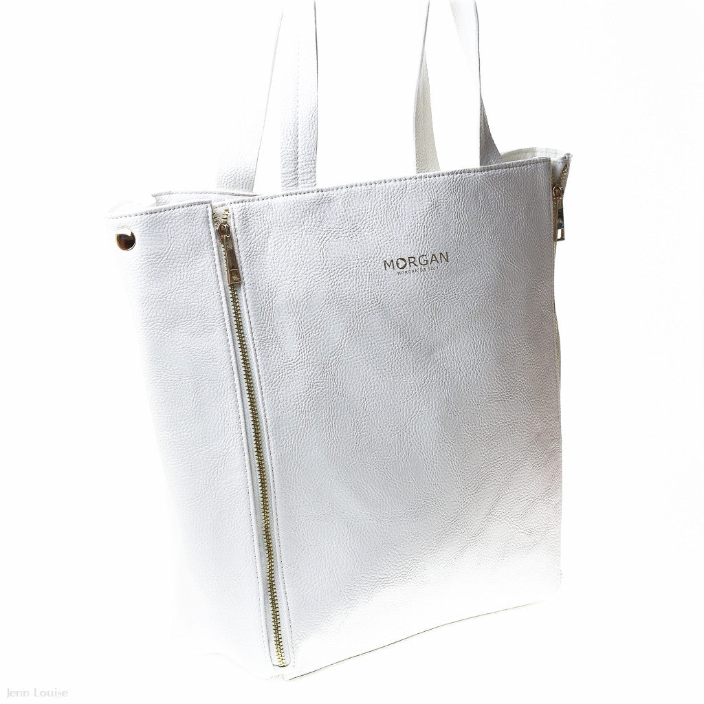Illusion 1 Tote (White handbag)