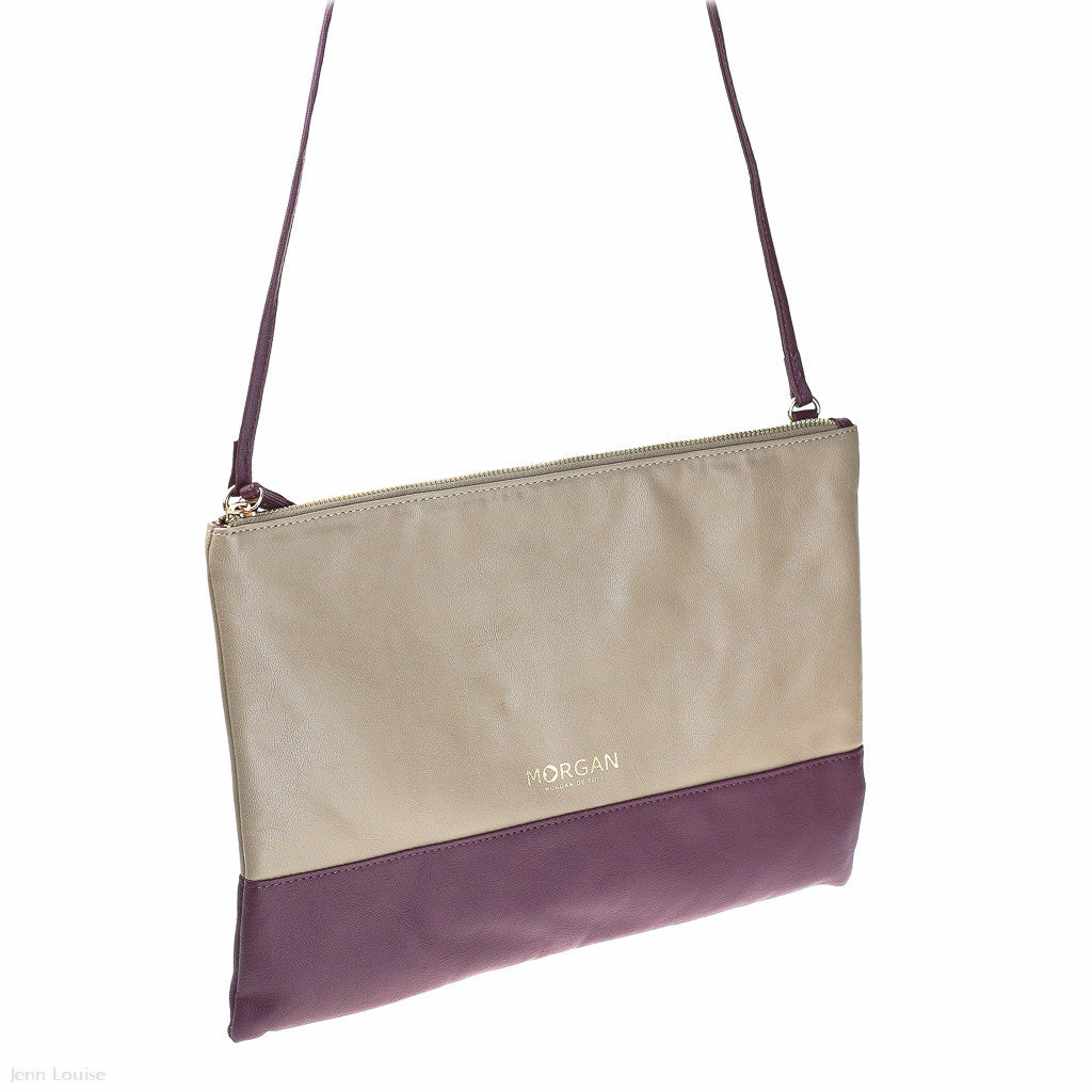 Pure 3 Shoulder Bag (Beige/Vin handbag)