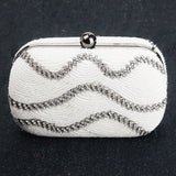 Beaded Clutch (Ivory)