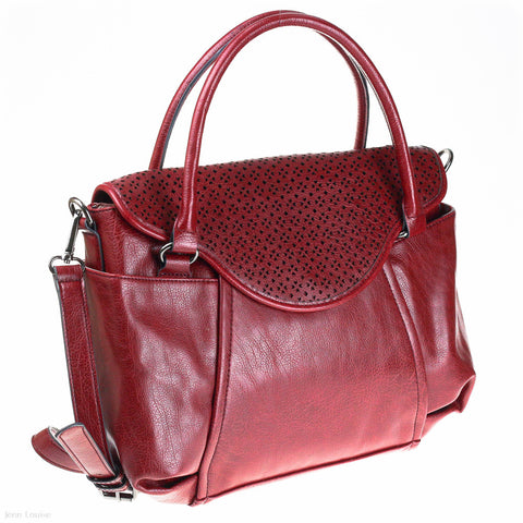 Star Laser Cut Tote (Shiraz handbag)