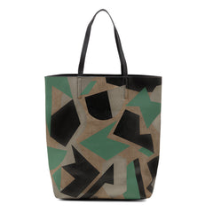 Sashenka 'Harper' Cut It Out Shopper Tote - SA8190 (green handbag)