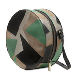 Sashenka 'Dot' Cut It Out Shoulder Bag - SA8191 (green handbag)