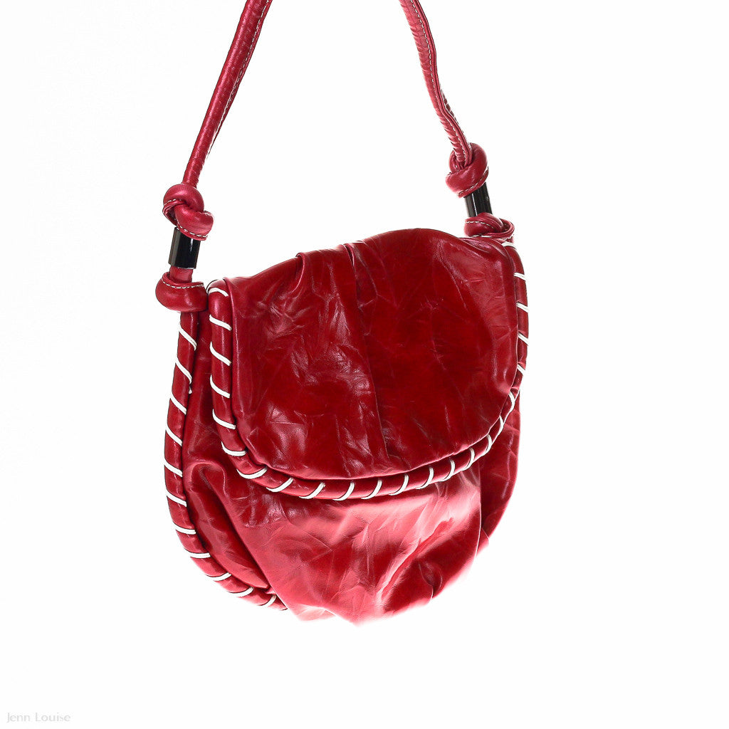 Voyage Cross Body Bag (Red handbag)