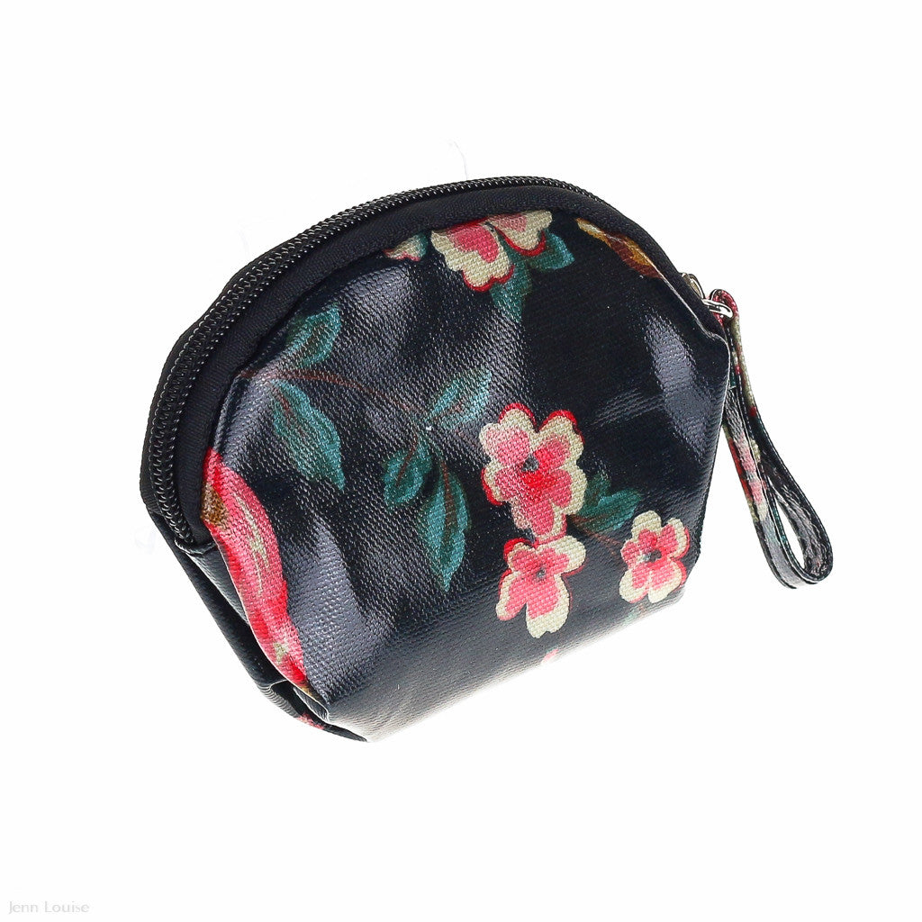 Bouquet Coin Purse (Black)